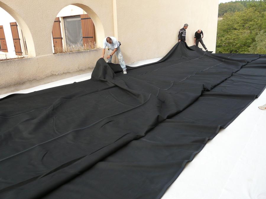 Cevennes couleurs membrane epdm for Film sous terrasse bois